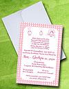 Ιδιαίτερο Προσκλητήριο Γάμου & Βάπτισης Μαζί